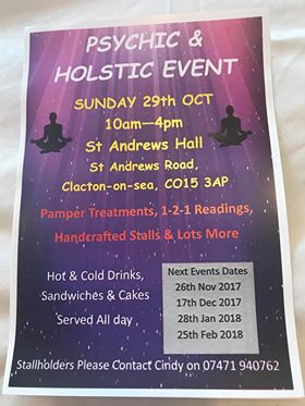 Psychic & Holistic Event