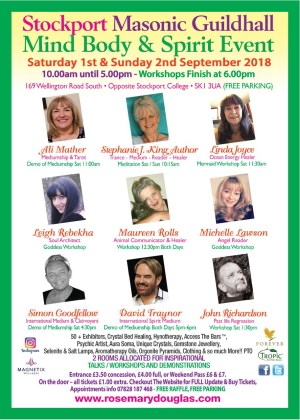 Stockport Guildhall - Mind Body Spirit Event