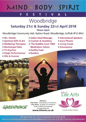 Mind Body Spirit Festival Woodbridge