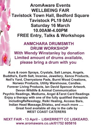 AromAware Events WELLBEING FAIR
