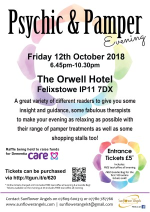 Psychic & Pamper Evening