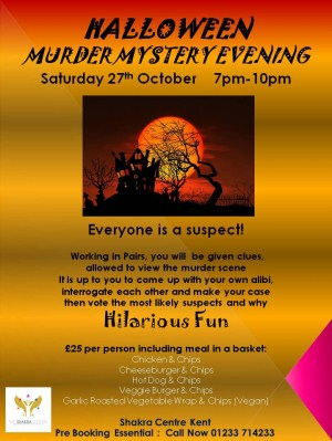 Halloween Murder Mystery Night