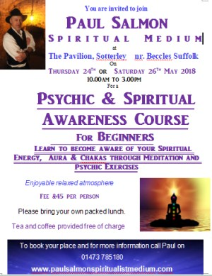 Psychic Energy and Aura awareness for beginners