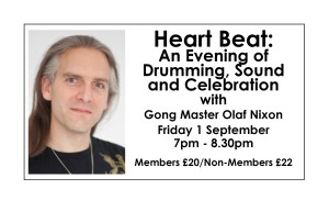 Heart Beat - An Evening of Drumming, Sound and Celebration