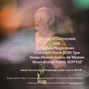 Mediumship Demonstration with Maggie Jones