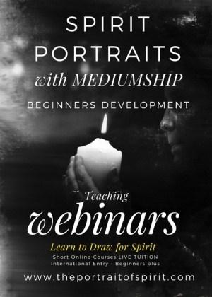 MEDIUMSHIP - SPIRIT PORTRAITS - LEARN TO DRAW for SPIRIT