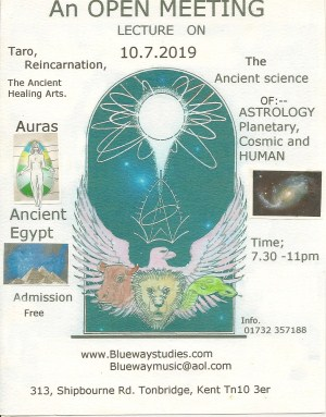 An open meeting on Taro, Reincarnation, The Ancient Healing Arts and more...