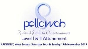 Pellowah Level 1 & 2 Attunement - 2 Day Workshop