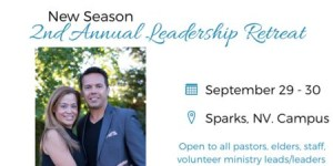 New Season 2nd Annual Leadership Retreat