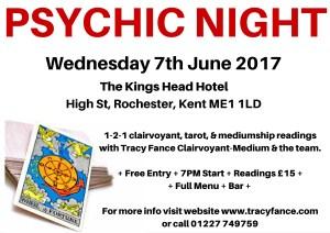 International Clairvoyant-Medium Tracy Fance Presents: Psychic Night
