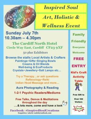 Art Holistic & Wellness Event Cardiff
