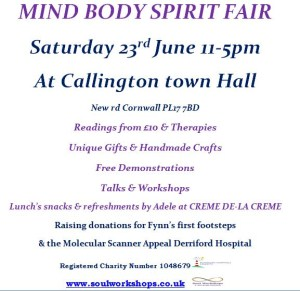 Mind Body Spirit Fair Callington