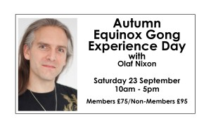 Autumn Equinox Gong Experience Day