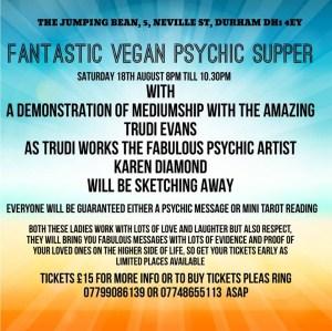 Vegan psychic supper