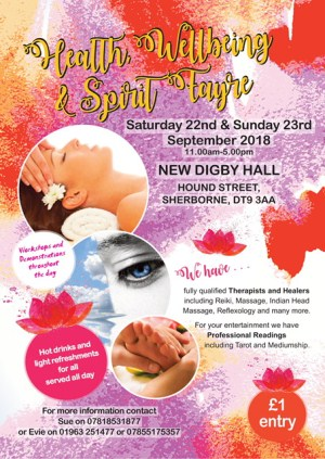 Health Wellbeing and Spirity Fayre