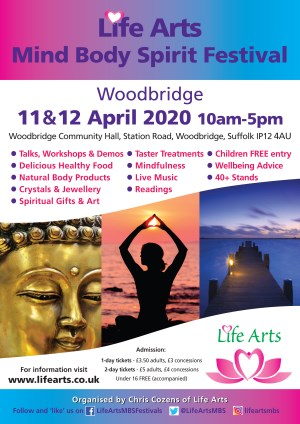 Woodbridge Mind Body Spirit Festival - 2 days