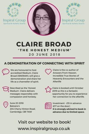 Claire Broad - The Honest Medium