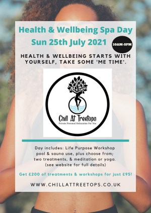 Health & Wellbeing Spa Day