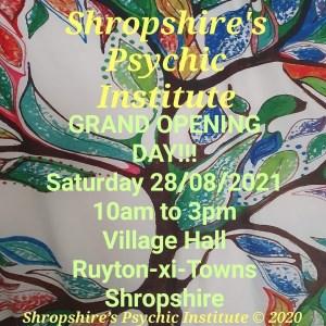 Shropshire's Psychic Institute Opening Day