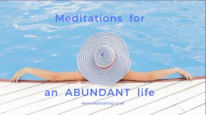Meditations for an Abundant Life (4 week course)