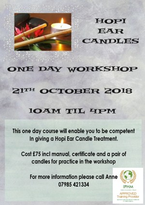 Hopi Ear Candles Workshop