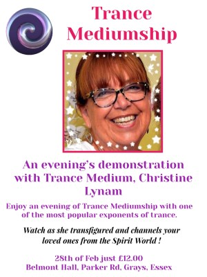 A Night of Trance with Christine Lynam