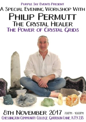 Crystal Grids - A New Workshop with Philip Permutt