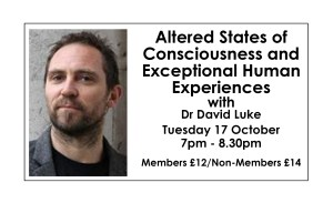 Altered States of Consciousness and Exceptional Human Experiences