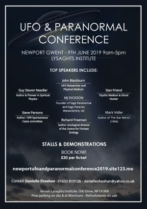 UFO and paranormal conference