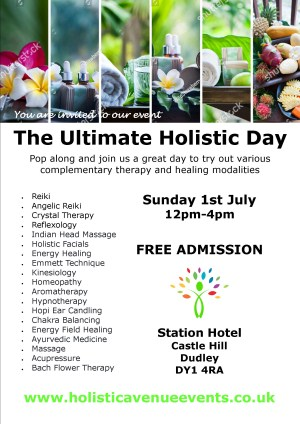The Ultimate Holistic Day on 1 July