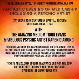 An evening of mediumship & psychic art