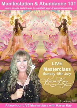 Manifestation & Abundance 101 - Online Live Masterclass