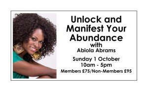 Unlock and Manifest Your Abundance Visiting us from the USA