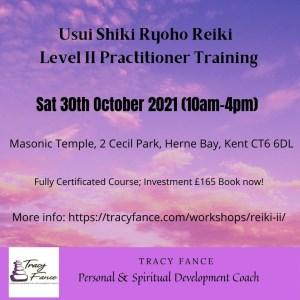 Usui Reiki Level II Workshop