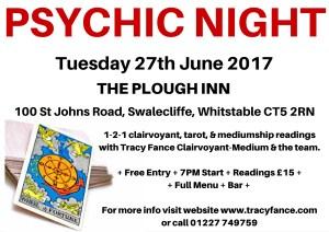 Psychic Night - 27th June 2017