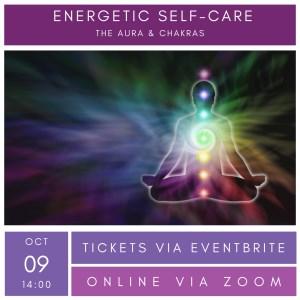 Online Workshop - Energetic Self-Care: The Aura & Chakras