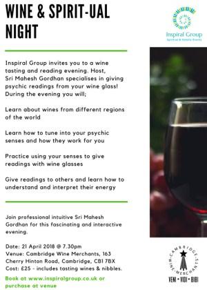 Wine & Spirit...ual Night