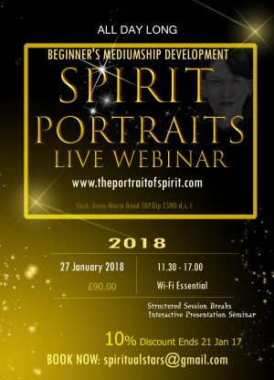 AWARENESS OF SPIRIT ART and PSYCHIC ART Webinar (International Online Access)