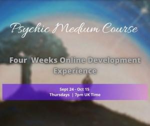 Four Week Spiritual Development Course