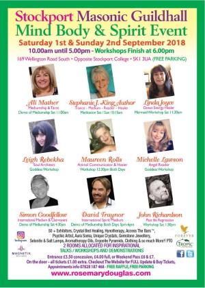 Stockport Guildhall - Mind Body Spirit Event