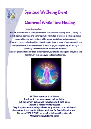 Universal WhiteTime Wellbeing Event
