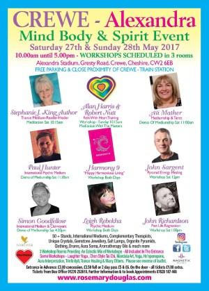 Crewe Alexandra - Mind Body Spirit Event