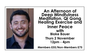 An Afternoon of Deep Mindfulness Meditation, Qi Gong Healing Exercise and Inner Peace