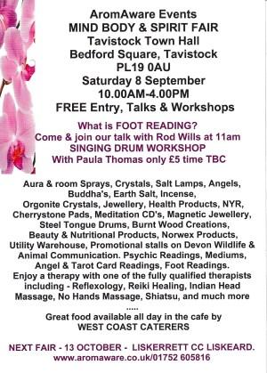 AromAware Events Mind Body & Spirit Fair