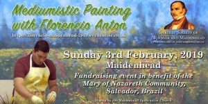 Psychic Painting in Maidenhead with Florencio Anton