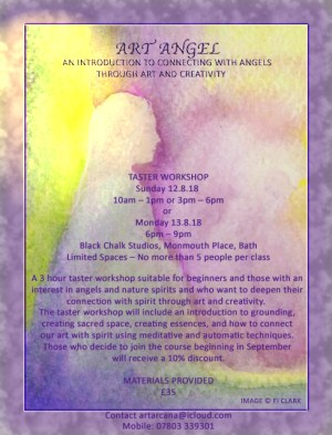 Connecting with Angels Through Art and Creativity