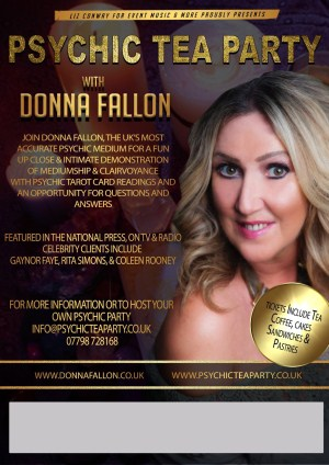 Psychic Tea Party with Psychic Donna Fallon