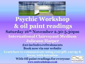 Psychic Workshop with art readings