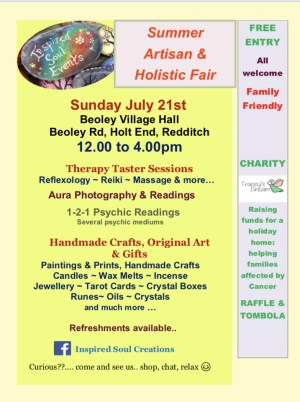 Summer Artisan & Holistic Fair
