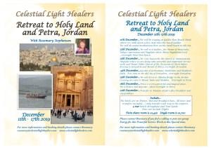 Retreat to Holy Land and Petra, Jordan